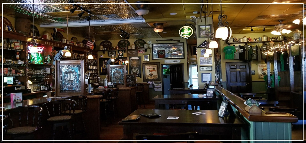 An Authentic Irish Bar Design